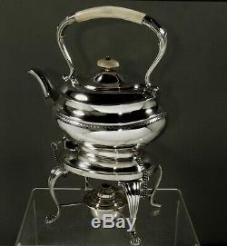 English Sterling Tea Set 1932 Géorgien No Mono