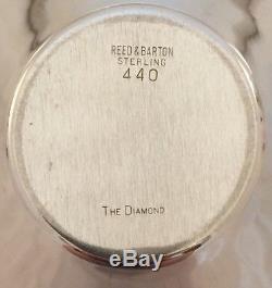 Ensemble À Thé Et À Café En Argent Sterling The Diamond Par Reed & Barton