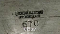Ensemble À Thé Sterling Reed & Barton C1940