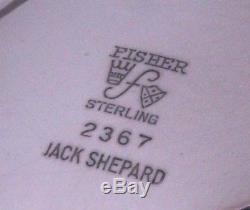 Ensemble De Café Au Thé Sterling Silver Sterling Jack Shepard Design