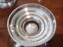 Ensemble De Service De Café Et De Thé En Argent Sterling 5 Pcs Shreve & Co. C1900