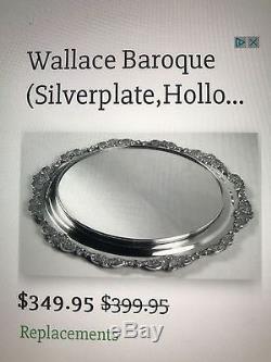 Ensemble De Thé Antique Gorham & Wallace, Plat Plat Miroir, Buffet, Etc. $ 875