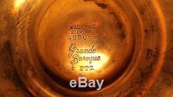 Ensemble De Thé En Marbre Sterace Silver Grande Baroque