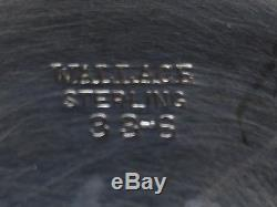 Ensemble De Thé Wallace En Argent Sterling # 33-8 Pot Et Sucre Et Crémier George I Pattern