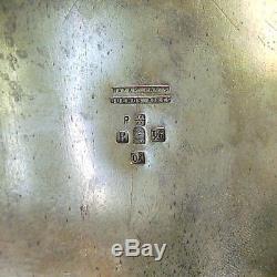 Ensemble De Thé Wmf Art Nouveau, Plaque D'argent # 5981