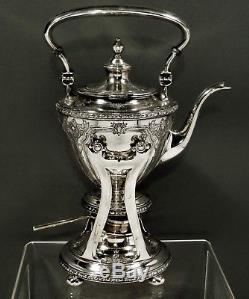 Ensemble De Théière Et Théière Watson Sterling Tea C1920 Navarre
