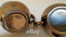 Erreur Poids Est Fixe 2lbs! -vintage Tiffany & Co Sterling Silver 3 Piece Tea Set