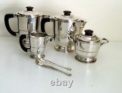 Français Art Déco Coffee/tea Set Par Albert Frionnet