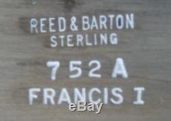 Francis I By Reed & Barton - Ensemble De Thé En Argent Sterling 6 Pièces Avec Plateau En Argent Sterling (# 2118)