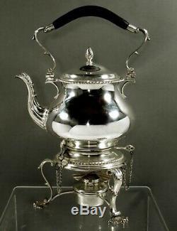 Georg Jensen Sterling Tea Set Géorgien No Mono