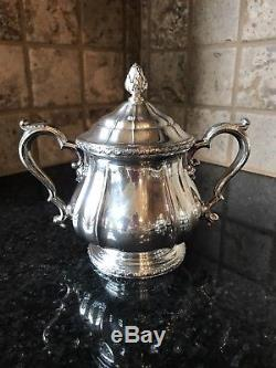 Gorham 6 Pc Silverplate Tea Set