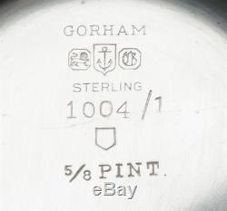 Gorham Chantilly Ensemble De 4 Pièces, Argent Sterling, Belle