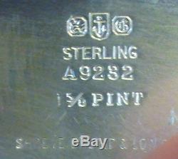 Gorham Expressly Pour Geo. C. Shreve & Co. Ensemble De 3 Pièces En Argent Sterling