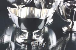 Gorham Plymouth En Argent Sterling 5 Pecs Thé Et Café Set Pas Mono Excellent Cond