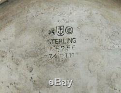 Gorham Sterling À Thé Bouilloire Et Support 1909 50 Oz