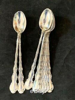 Gorham Sterling Strasbourg Set Pour 12 Ice Tea Spoons Pas Monogrammes