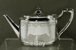 Gorham Sterling Tea Set 1868 Grave La Main
