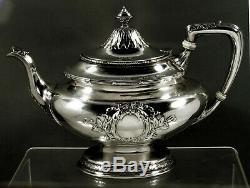 Gorham Sterling Tea Set 1906 Code Spécial Hallmark