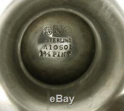 Gorham Sterling Tea Set 1917 Motif Lansdowne
