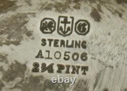 Gorham Sterling Tea Set 1918 Etruscan