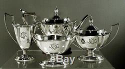 Gorham Sterling Tea Set 1923 Plymouth