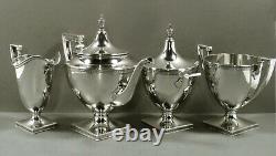 Gorham Sterling Tea Set C1930 Etrusques