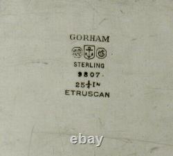 Gorham Sterling Tea Set Plateau C1930 Etrusques