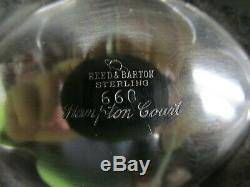 Hampton Court Par Reed & Barton En Argent Sterling 4 Pièce À Thé Marqué # 660