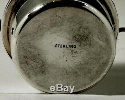 Howard Co. Sterling Tea Set Kettle & Stand 1907 62 Onces