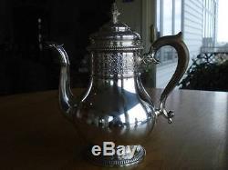 Huge7pgorham Sterling-silvertea-café + Kettletraysetfigural293 T. O. Heavy