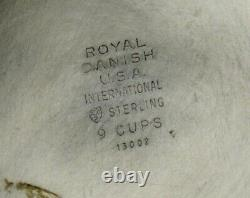 Internationale Sterling Tea Set 1940 Royal Danish
