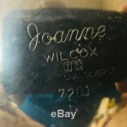 Le Vintage Webster Wilcox Joanne Argent Plaqué 4pc Café / Thé Set Withlargetray