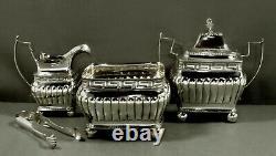 Liberty Browne Silver Tea Set C1810 Musée