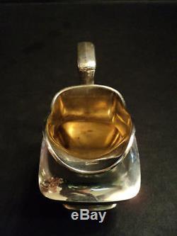 Magnifique Ensemble De Café / Thé En Argent Sterling Silver Towle De 5 Pces, Modèle Discontinué # 7677