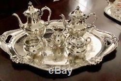 Magnifique Gorham Sterling Silver Set De 5 Tasses À Thé Et Café Strasbourg