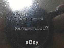 Mappin & Webb Silver Art Déco 3 Pièces Service À Thé 1910