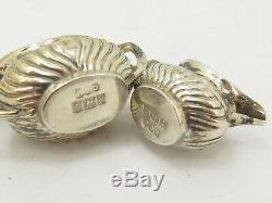 Miniature 5 Vintage En Argent Sterling Piece À Thé Henry Clifford Davis 925