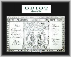 Odiot, Service À Thé Et À Café En Vermeil, Argent Sterling, 4 Pièces