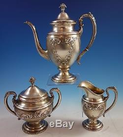 Old Master Par Towle Sterling Silver Tea Set 3pc # 76530 (# 1616)