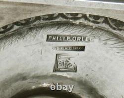 Philip Oriel Sterling Tea Set C1920 Main Wrought