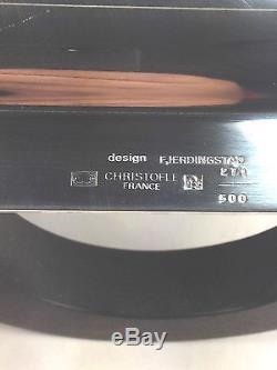 Rare Art Deco Christofle Ensemble De Thé / Café Plaqué Argent De 6 Pcs 1935 C. Fjendingstad