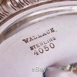 Rare Wallace Sir Christopher Ensemble À Thé / Café En Argent Sterling 4050