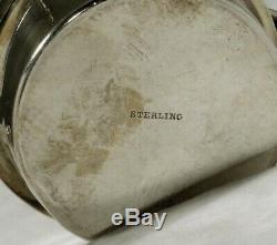 Redlich Sterling Tea Set Kettle & Stand C1910 Jensen Goût