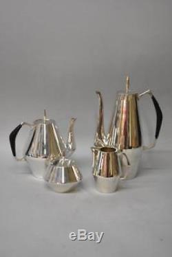 Reed And Barton Sterling MID Century Moderne Thé / Café Set Le Diamant