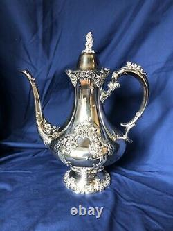 Reed & Barton King Francis Grand Coffee Et Tea Set