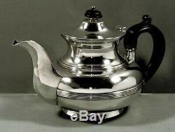 Reed & Barton Sterling Tea Set C1920 Art Deco