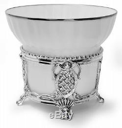 Russian Imperial Lomonosov En Porcelaine Set En Argent Sterling Tasse De Thé Cuillère Mécène