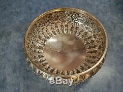 S. Kirk & Son Repousse 1883 Coin Argent 5pc Set Thé Avec Waste Bowl Rare