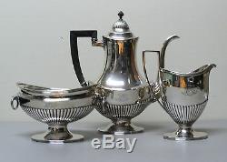 Service À Café Et À Thé 3 Pièces Vintage Tiffany & Co. En Argent Sterling # 8897