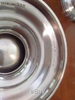Service À Café Et Thé En Argent Sterling Shreve & Co., 5 Pièces, C1900